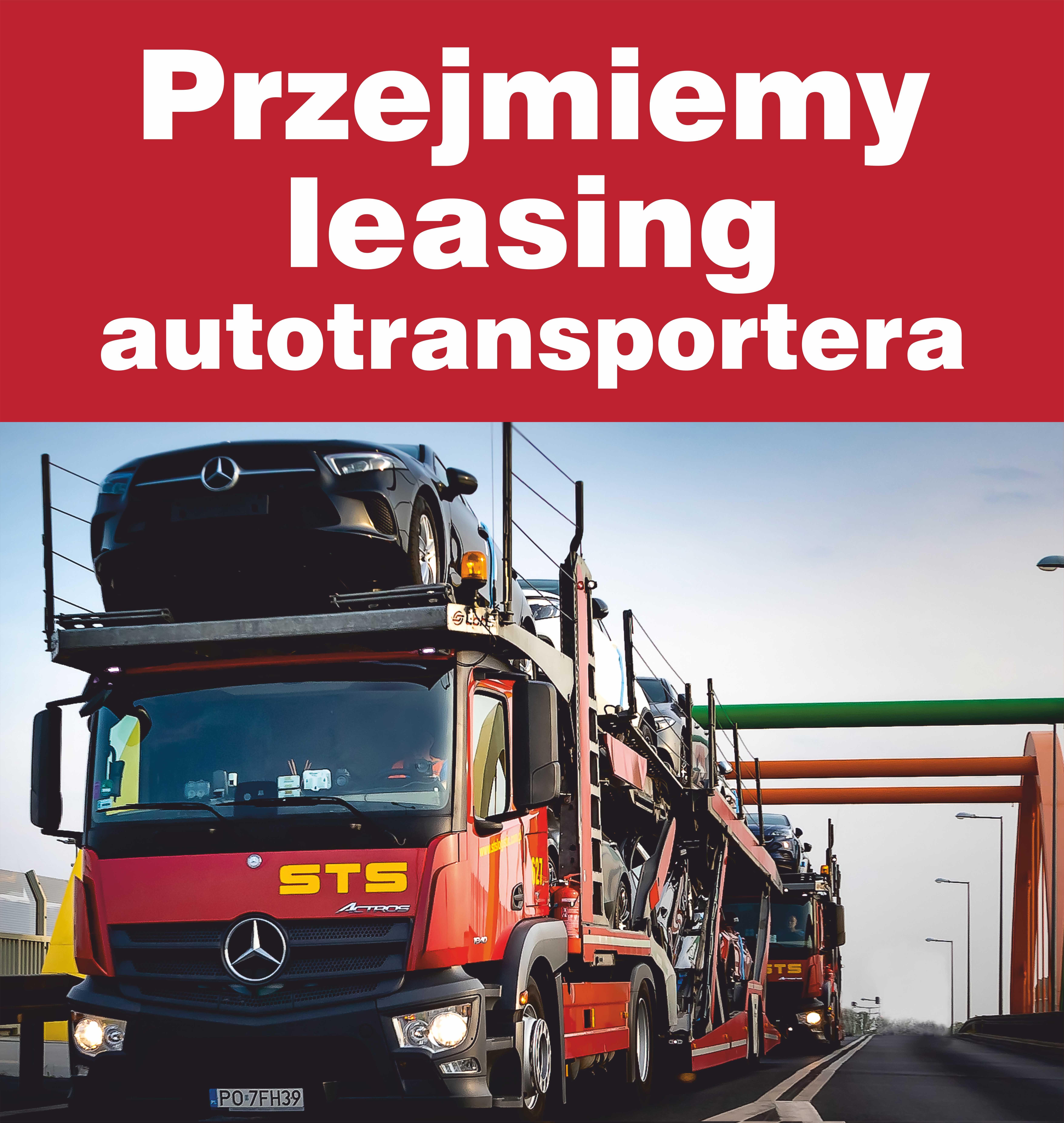 Przejmiemy leasing autotransportera